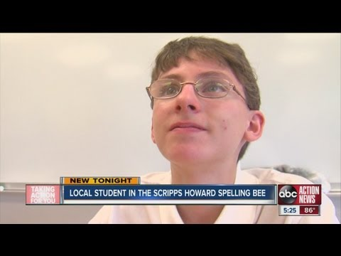 Polk County student in the Scripps Howard Spelling Bee