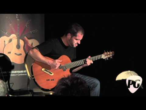 Montreal Guitar Show '10 - Jeff Traugott Guitars played by Charlie Hunter
