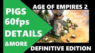 MORE AGE OF EMPIRES 2 DEFINITIVE EDITION FOOTAGE - REACTION & ANALYSIS