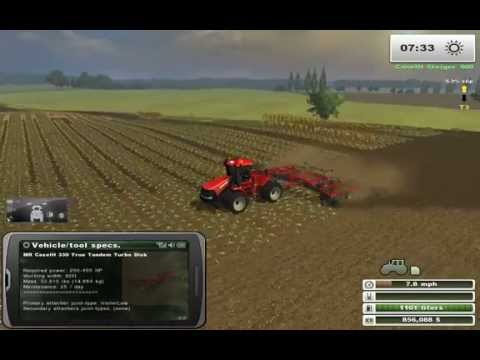 Farming Simulator Saturday: More Realistic Case IH Corn Harvest