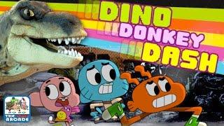 The Amazing World of Gumball: Dino Donkey Dash - Get Daisy Back! (Cartoon Network Games)