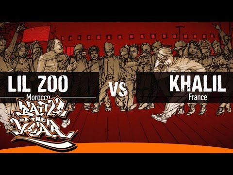 BOTY 2014 - 1 VS 1 - ROUND OF 16 - LIL ZOO (MO) VS KHALIL (FR) [BOTY TV]