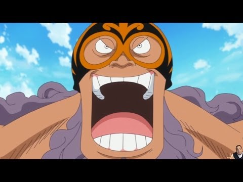One Piece Episode 634 ワンピース Review -- Jesus Burgess, Admiral Fujitora, Bellamy & Rebecca