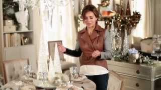How to Decorate a Holiday Table