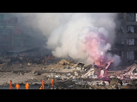 Tianjin explosion  Dozens dead, areas of Chinese port city devastated