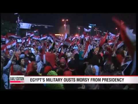 Egypt's military ousts President Morsy