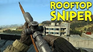 ROOFTOP SNIPER! - DayZ Standalone - Ep.3