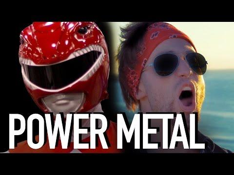 POWER RANGERS - POWER METAL (Jonathan Young)