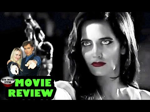 SIN CITY: A DAME TO KILL FOR - Mickey Rourke, Jessica Alba - New Media Stew Movie Review