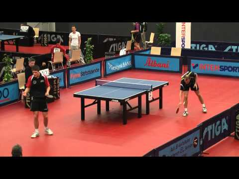 DM 2012 i bordtennis | Emil Madsen vs Carsten Egeholt