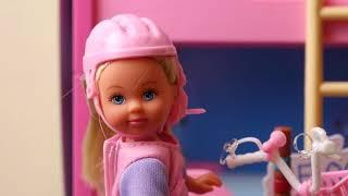 Barbie Morning Routine Barbie Bike Motorcycle PlayToys Video 2