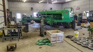 NEW Grain Drill and NEW Shop Toys