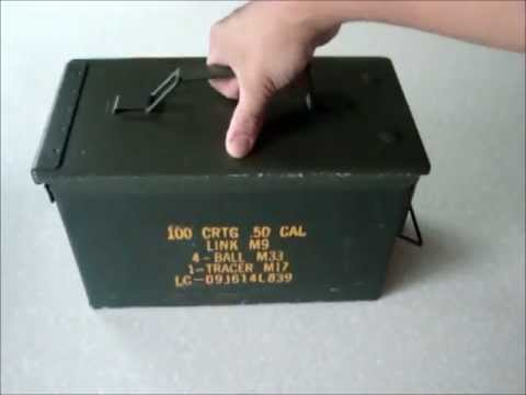 .50 caliber Ammo Cans: The accessory we all have. Best use of Government spending of all time