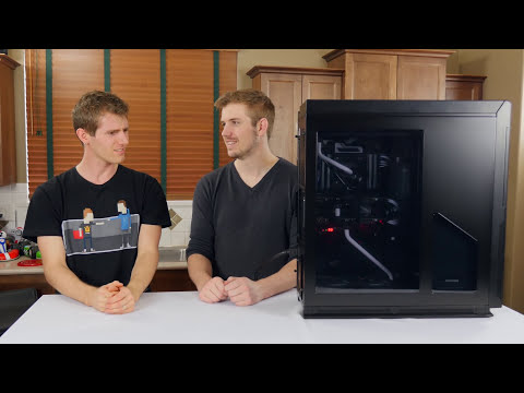 Hardline Water Cooled PC Build Log - Yes, you can play Battlefield on it