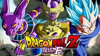 Dragon Ball Z: Battle of Gods - Super Saiyan God 2 Vegeta Dragon Ball Z: Battle of Gods 2 2015 MOVIE SCENES - Fukkatsu no F