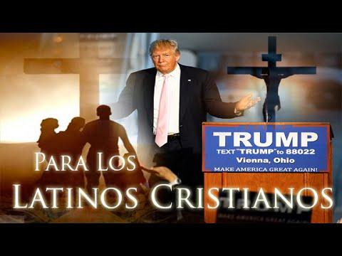 Latinos E Hispanos Cristianos Mexicanos Que Apoyan A Donald Trump