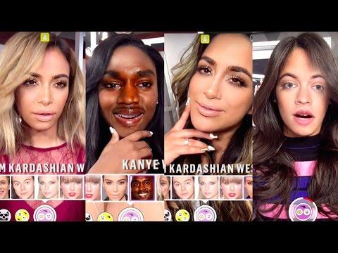 Fifth Harmony Face Swap With Justin Bieber, One Direction & Kim Kardashian