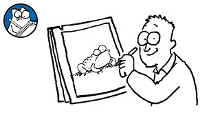 Simon Draws: Toads and Frogs - Simon's Cat | CREATIVE