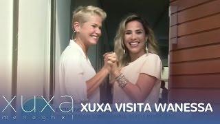 Xuxa visita casa de Wanessa Camargo
