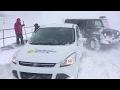 Weather Network reporters abandon vehicle on Citadel Hill | Atlantic nor'easter