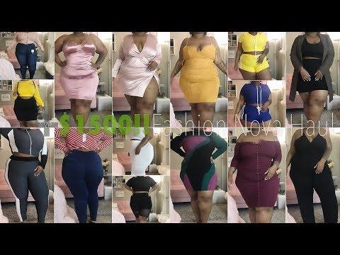 $1500 Try-On Haul!!! WTF. | Fashion Nova Curve / Plus Size | Daquana White