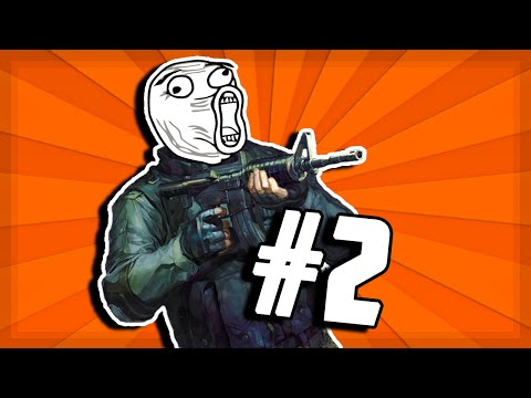 CS:GO Matchmaking Shenanigans #2 (Funny Moments, Clutches & Fails)
