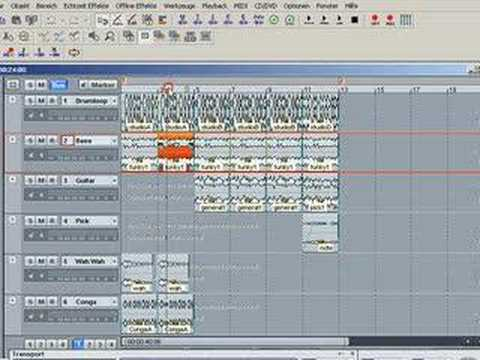 Samplitude 9 / Sequoia 9: Edit and Arrange Part 1