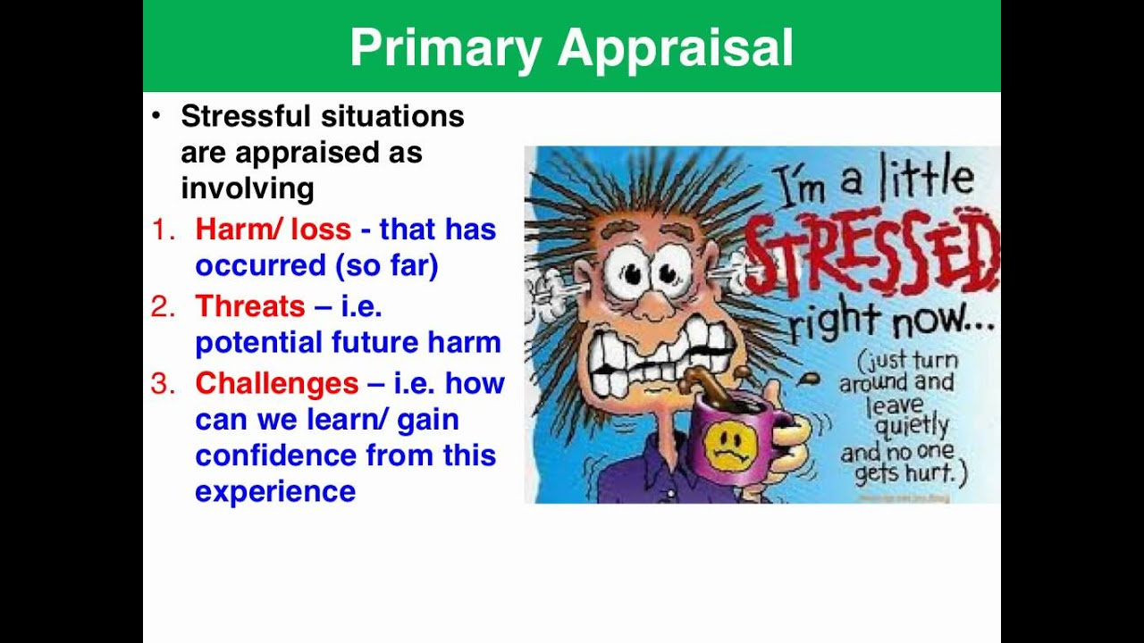 coping skill and lazarus stress theory essay We chose to apply maslow's human needs theory and lazarus' theory of stress, coping  application of non-nursing theories to nursing practice according to.