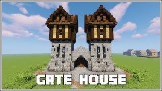Minecraft Tutorial ► Medieval Gate House!!!