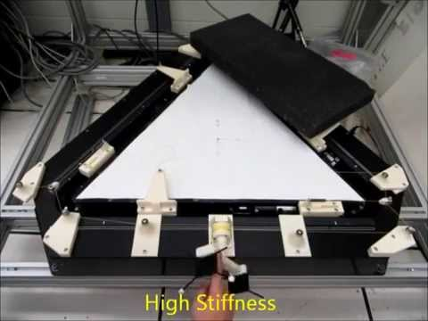 Experimental Results of the Active Variable Stiffness Module Prototype