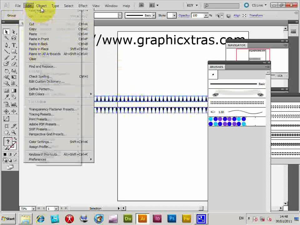 Illustration Illustrator Cs5 Illustrator Cs5 Brushes And