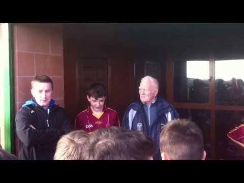 CBS Kilkenny Juvenile hurlers win Br. Anselm Barrett Cup 2014