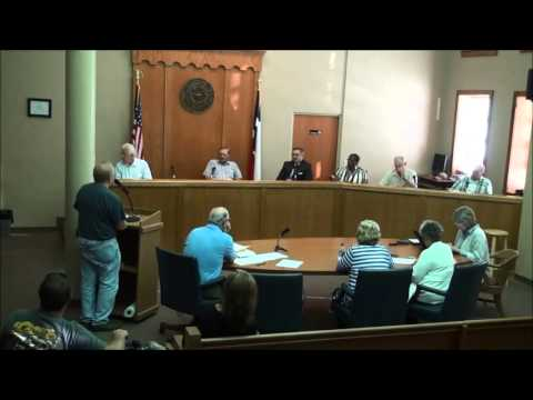 Titus County Texas Commissioners' Court held September 21, 2015