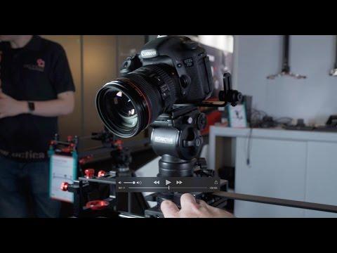 Newsshooter at IBC 2015: Konova slider accessories - Nitsan flywheel, Master Pan, K-Arm stabiliser