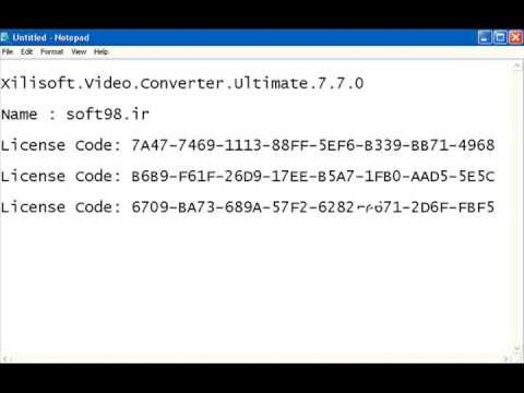 free serial Xilisoft.Video.Converter.Ultimate.7.7.0 - YouTube