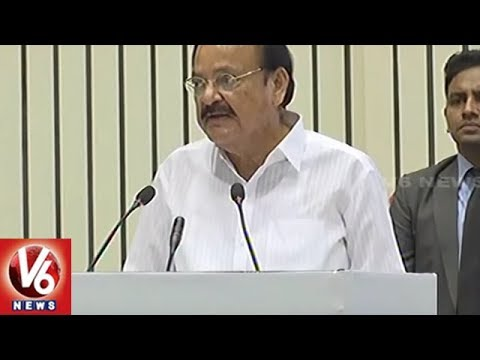 Vice President Venkaiah Naidu Calls For Mindset Change For Empowering Widows | V6 News