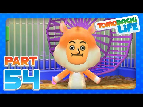 Tomodachi Life - Part 54 - My Pet Hamster Rodri!  (3DS)