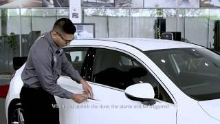 Mercedes-Benz: Unlock Car Door with Mechanical Key