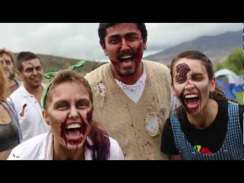 Run for Your Lives - Zombie Infested 5K Obstacle Course Race - Southern California 2012