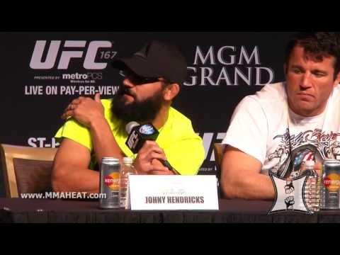 UFC 167 GSP vs Hendricks PreFight Press Conference LIVE  complete  unedited