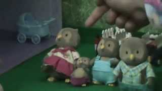 Sylvanian Family Calico Critters video. Introduction) Our Critter Ville town)