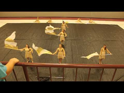 Crockett County Middle School Winterguard 2014 - Halo