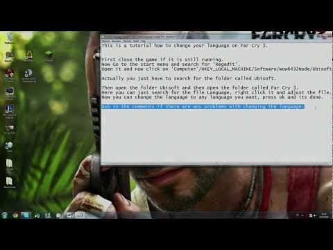 Far Cry 3 Change language after installation