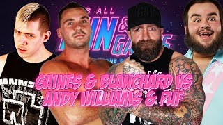 FREE MATCH - Anthony Gaines & Kevin Blanchard vs Andy Williams & PUF