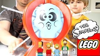 Boom Boom Balloon and Lego The Simpsons minifigures​​​