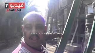 بالفيديو.. بسبب الإهمال.. «زاوية عارف باشا» الآثرية آيلة للسقوط