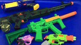 Toy Guns Box of Toys NERF Zombie Strike Pistol Grenade