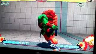 SF4 BLANKA TUTORIAL FOR PROFESSIONALS