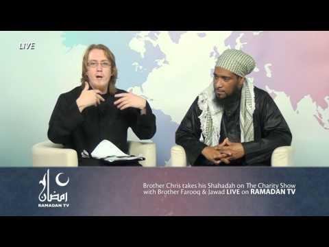 BT - Allahu akber A Christian accepts Islam Live on Ramadan TV ! 12/8/2012 New Video