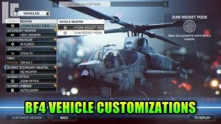 BF4 Vehicle Customizations - Boats Are Amazing! (Battlefield 4 Gameplay/Commentary/Alpha/E3) E3M13